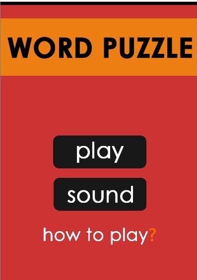 word puzzle | TuZagraj.pl