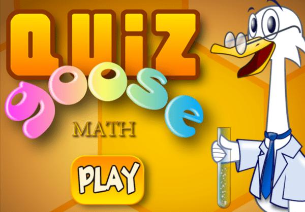 Quiz Goose Math | TuZagraj.pl
